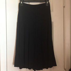Comfy black gaucho pants